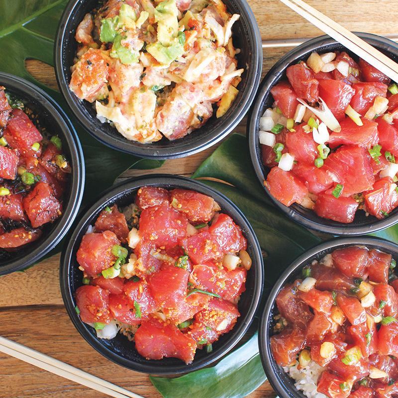 poke oahu hawaii foodland