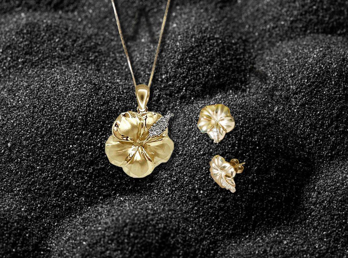 paradise collection hibiscus jewelry