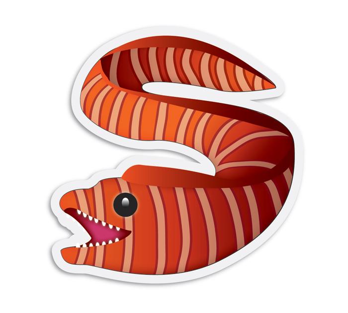 eel-hawaii-emoji