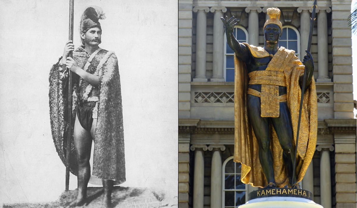 kamehameha day statue models