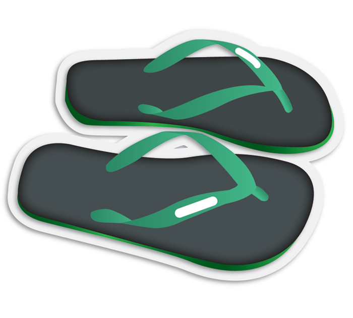 hawaii-slippers-emoji