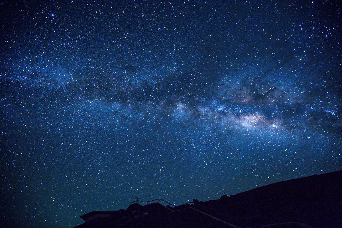 stars at haleakala