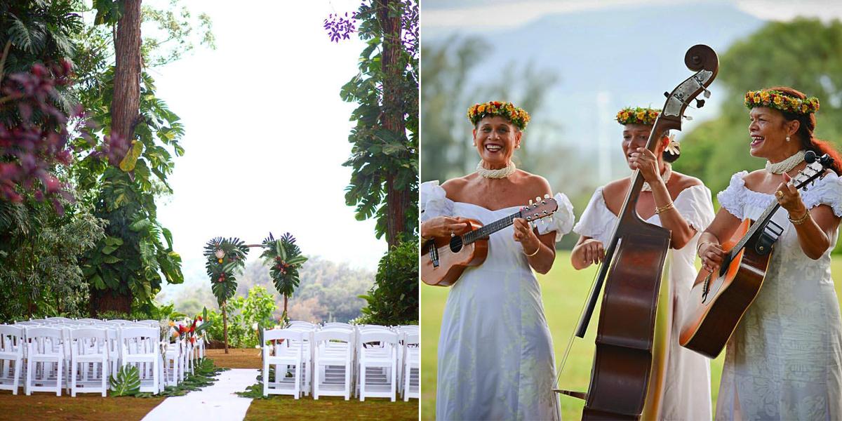 sunset ranch hawaii north shore weddings
