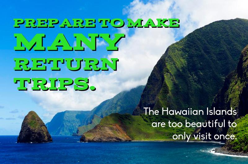 first time travel advice hawaii