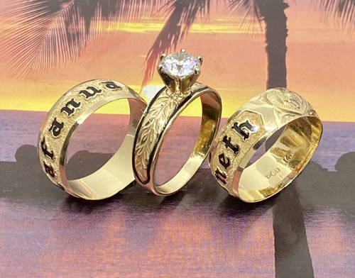 paradise collection wedding rings
