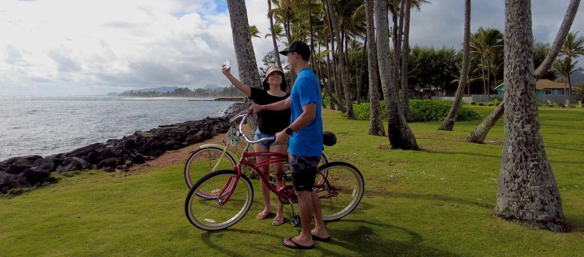 biking on kauai royal coconut coast