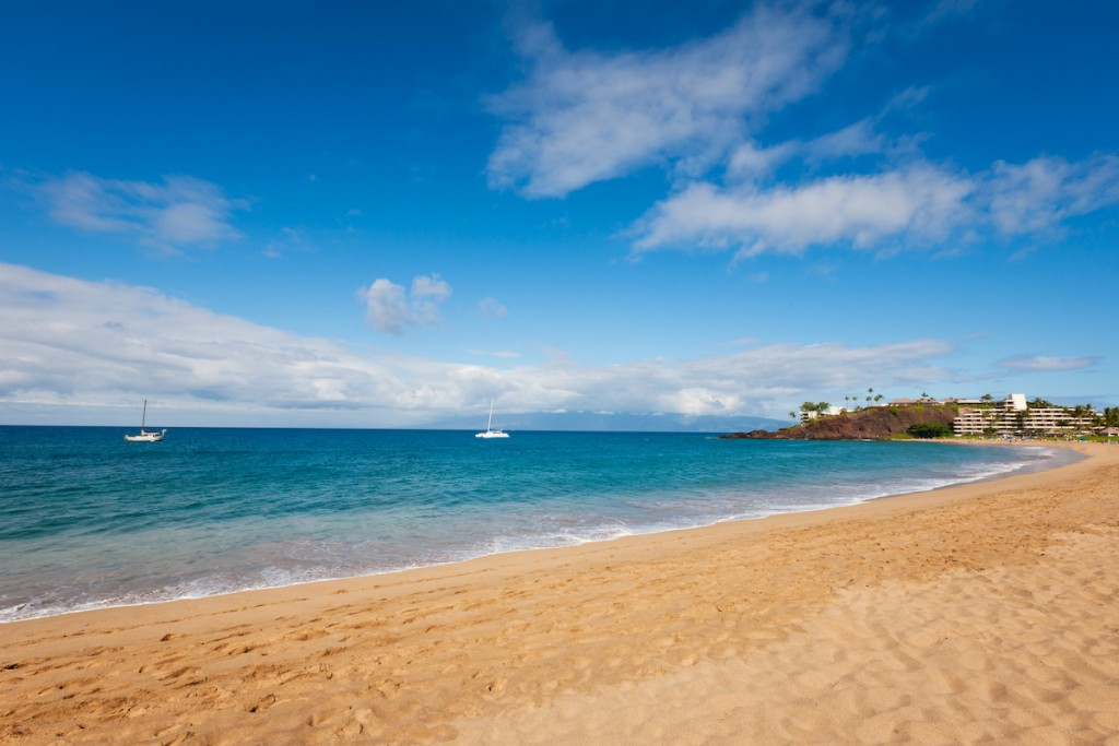Beautiful Kaanapali Beach Maui Hawaii