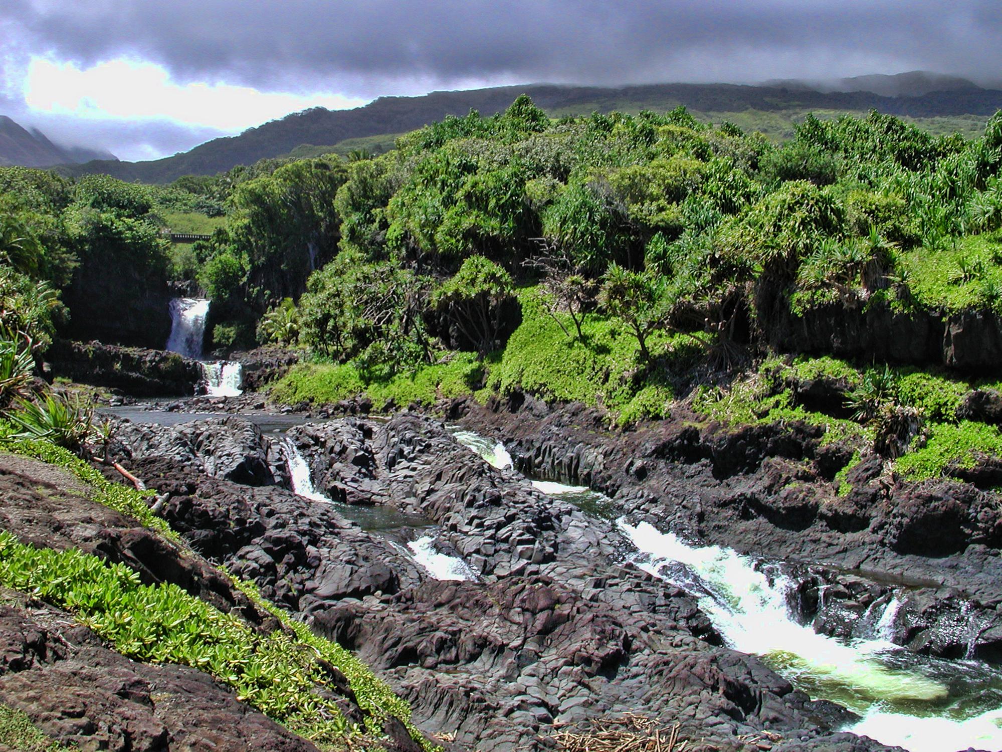 Hawaii, Ohe'o Gulch,haleakalā National Park, Maui