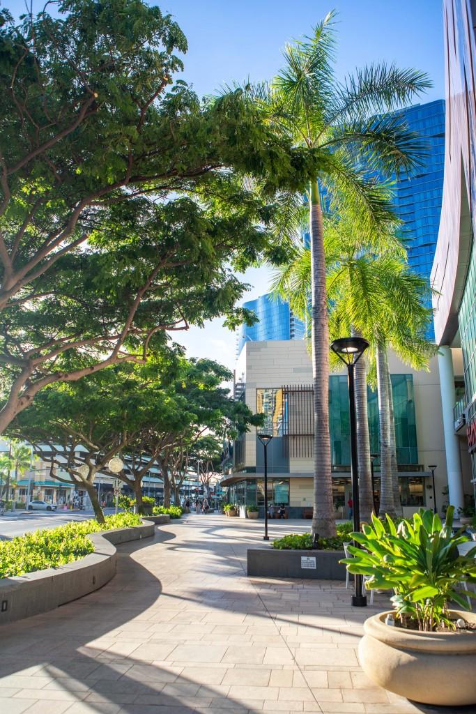 Auahi Street Promenade