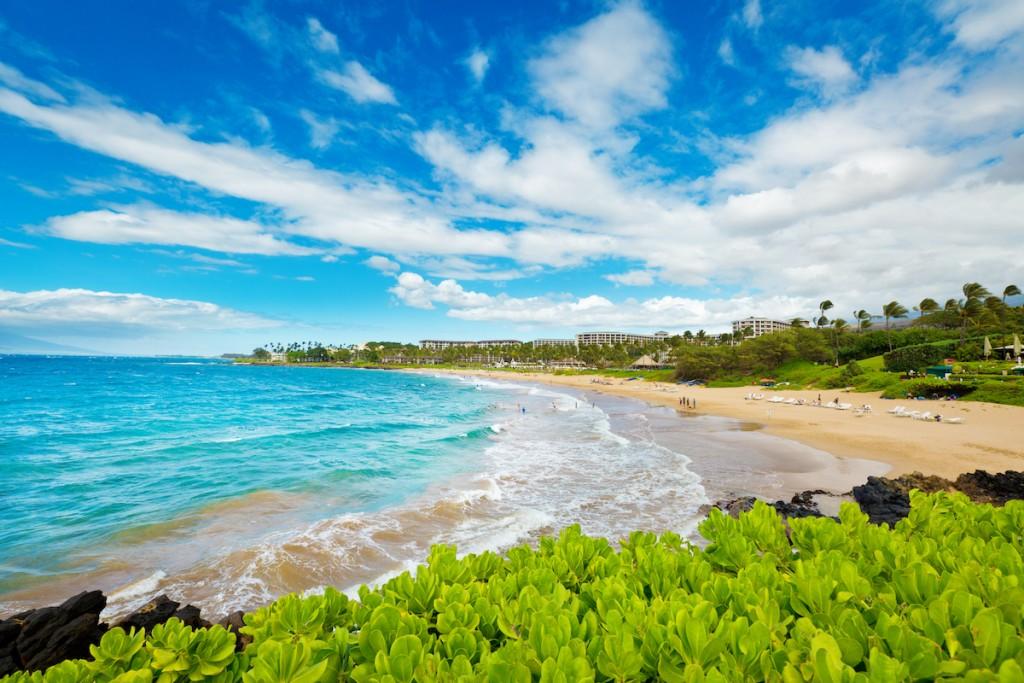 Wailea Beach Of Maui, Hawaii