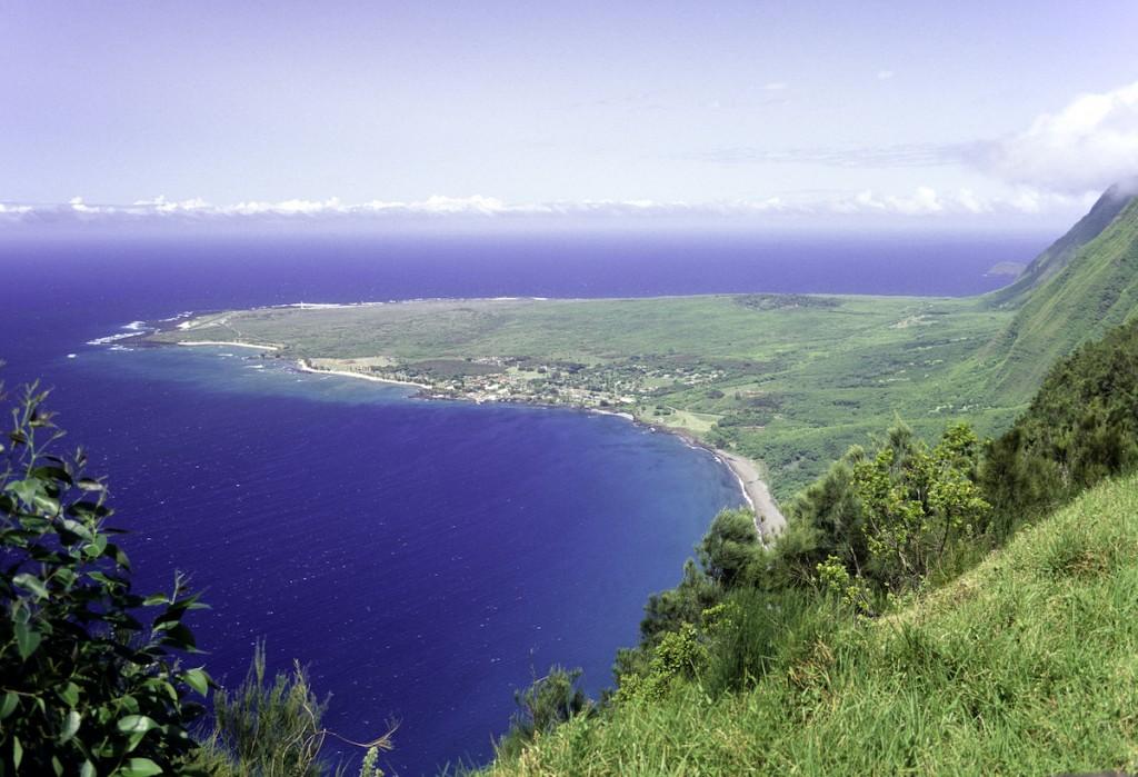 Usa Hawaii Molokai, Kalaupapa Peninsula.