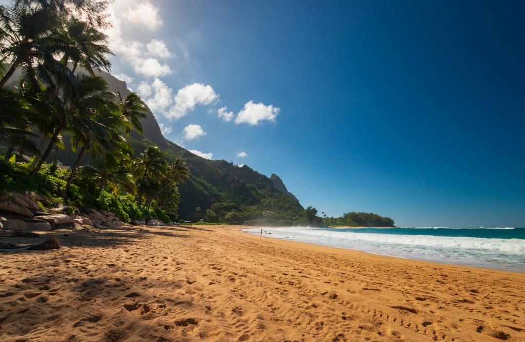 Tunnels Beach (makua Beach), Kauai, Hawaii, Usa