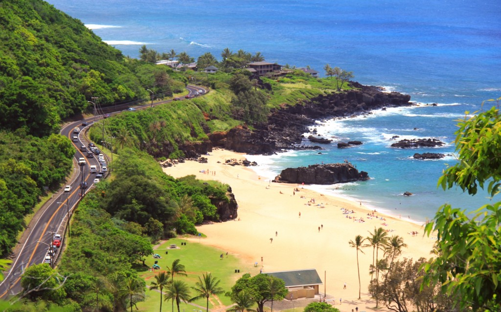 North Shore Oahu Hawaii Beach Scenic