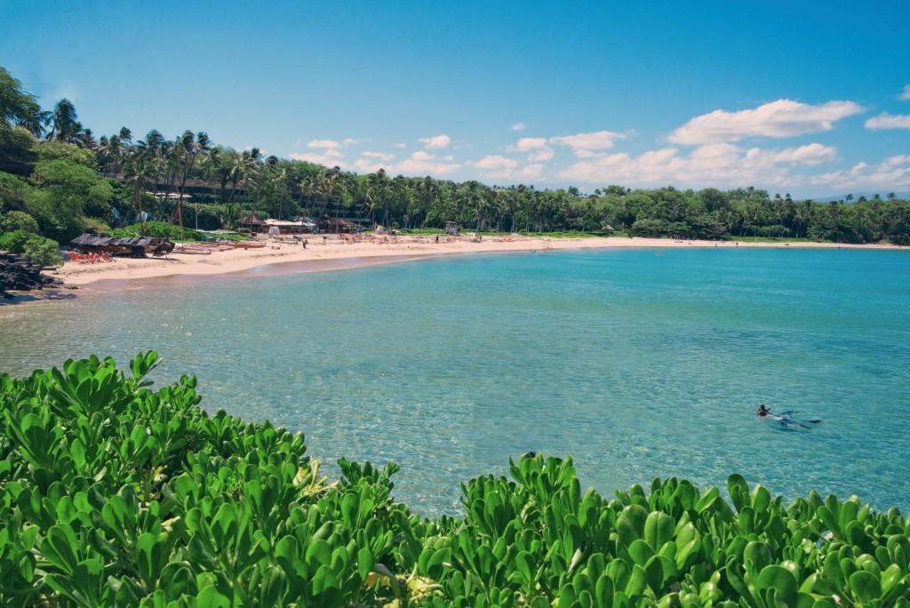 Beautiful Mauna Kea Beach, Hawaii
