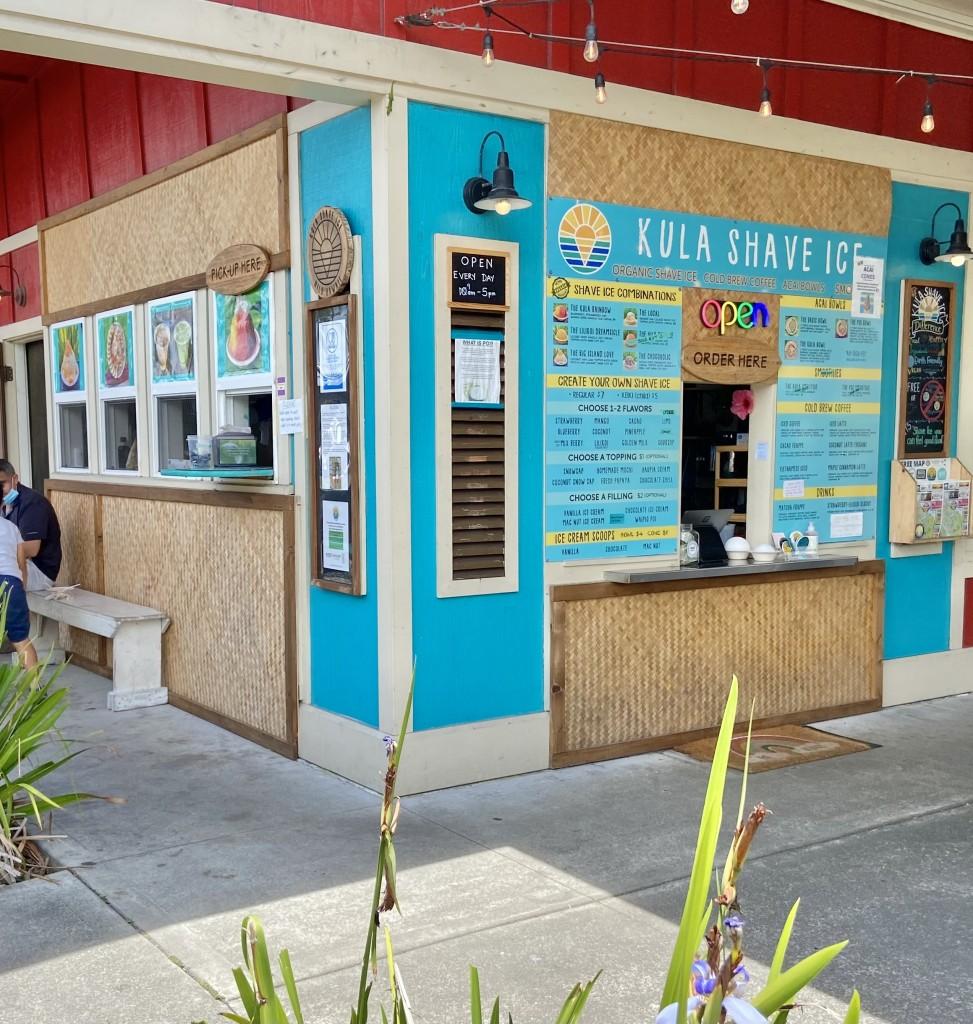Kula Shave Ice Storefront