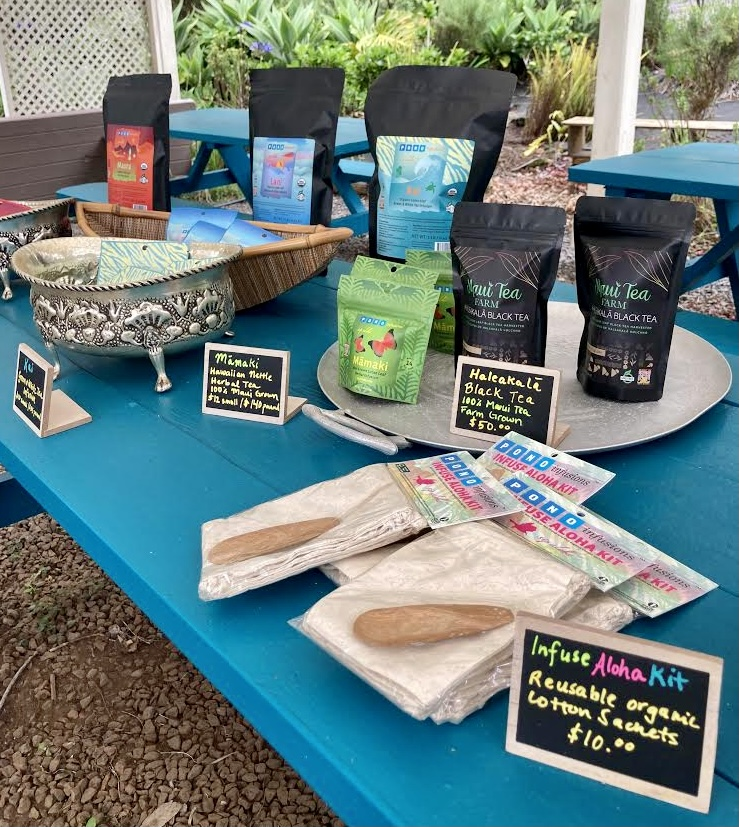 Outdoor Maui Tea Farm Retail Shop Full Store Opening This Year