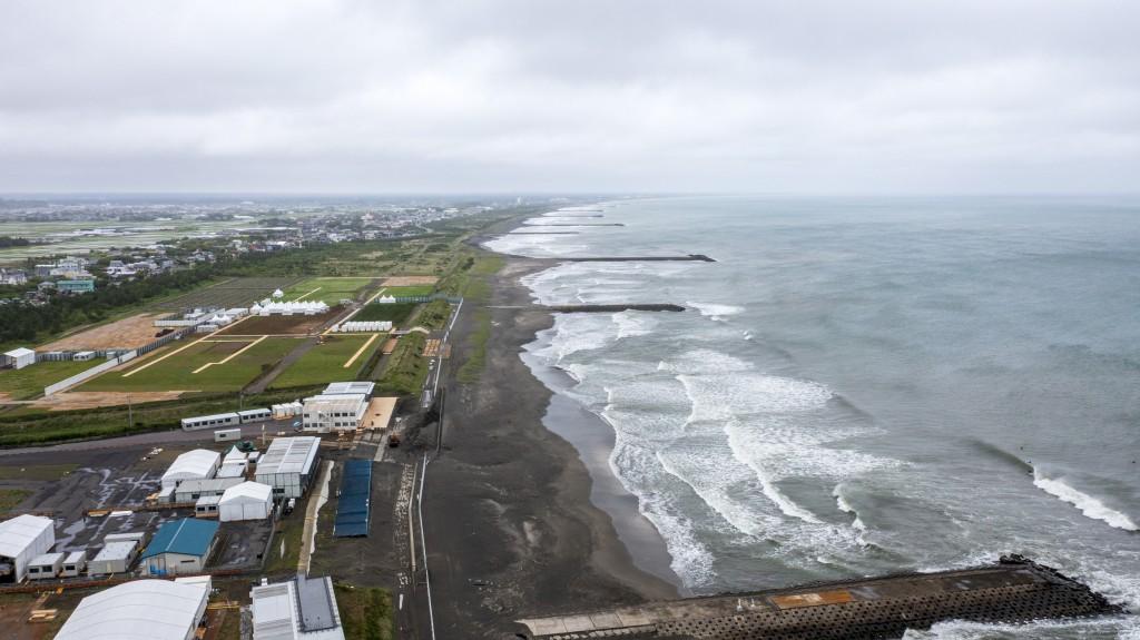 Tokyo 2020 Surf Venue Tsurigasaki Beach Popular Name Shida Shita