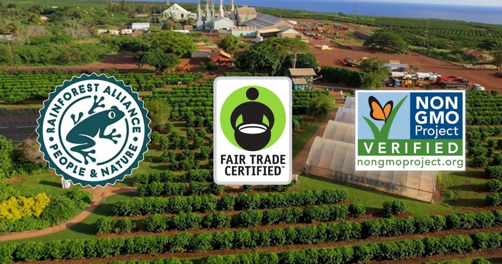 kauai coffee triple certification