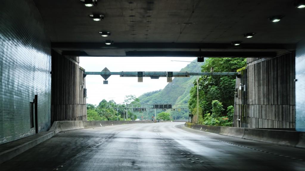 Tetsuo Harano Tunnel On H 3 Between Honolulu And Kaneohe, Oahu, Hi