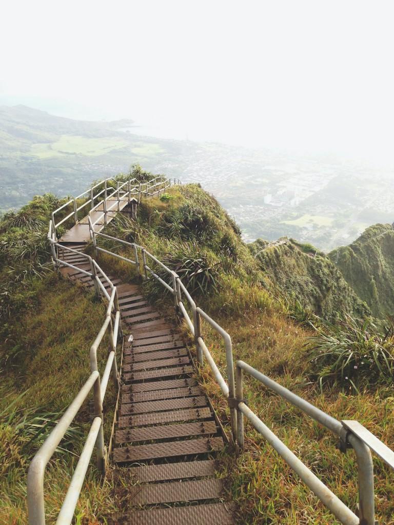 Stairway To Heaven Ridge Hike Nature Landscape View